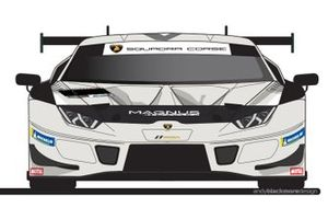Magnus Racing Apollo 11 renk düzeni, Lamborghini Huracán GT3 EVO