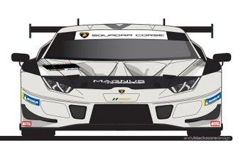 Magnus Racing Apollo 11 livery, Lamborghini Huracán GT3 EVO