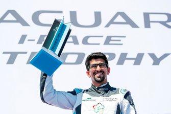 Ahmed Bin Khanen, Saudi Racing, 3rd position, on the podium