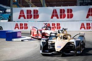 Андре Лоттерер, DS Techeetah Formula E Team, DS E-Tense FE 19, и Паскаль Верляйн, Mahindra Racing, M5 Electro
