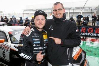 Winner #6 BLACK FALCON Mercedes-AMG GT3: Patrick Assenheimer, Manuel Metzger