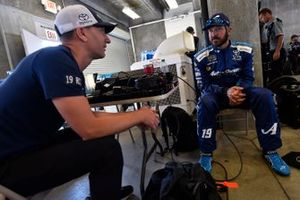 Martin Truex Jr., Joe Gibbs Racing, Toyota Camry AOI and Cole Pearn