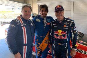 Zak Brown, Carlos Sainz Jr., Carlos Sainz