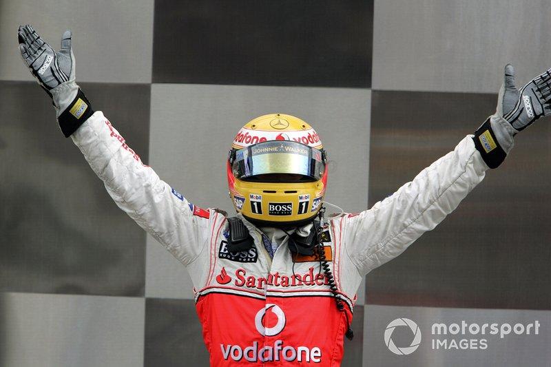 2007 Lewis Hamilton, McLaren