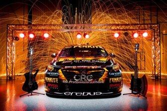 Erebus Motorsport KISS livery