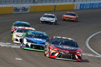 Matt DiBenedetto, Leavine Family Racing, Toyota Camry Barstool Sports and Alex Bowman, Hendrick Motorsports, Chevrolet Camaro Nationwide
