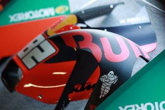 Mika Kallio, Red Bull KTM Factory Racing bike detail