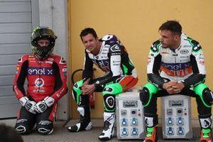 Кенни Форэ, Tech3 E-Racing, и Рэнди де Пюнье, LCR E-Team