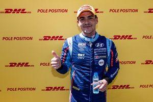 Ganador de la pole Norbert Michelisz, BRC Hyundai N Squadra Corse Hyundai i30 N TCR