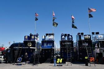 Camiones del equipo Hendrick