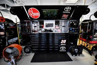Christopher Bell, Joe Gibbs Racing, Toyota Supra Rheem/Smurfit Kappa tool box