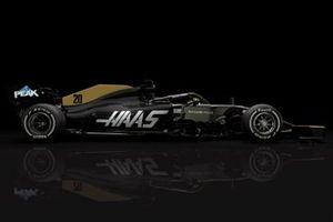 Haas F1 Team VF-19 livery