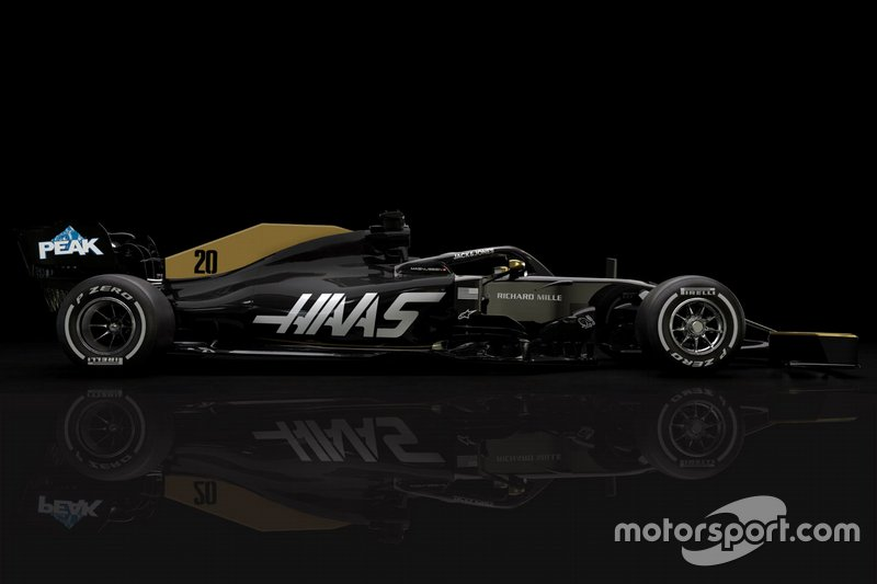 Haas F1 Team VF-19 sin Rich Energy
