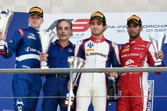 Robert Shwartzman, PREMA Racing Pedro Piquet, Trident Jehan Daruvala, PREMA Racing