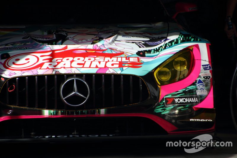 #4 Goodsmile Racing & Team Ukyo Mercedes AMG GT3