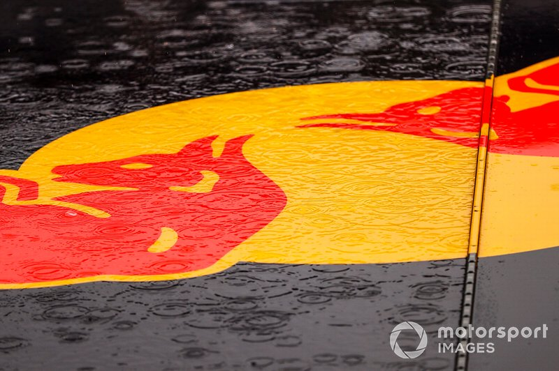 Rain on Red Bull Logo
