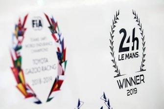 Toyota Gazoo Racing 2019 24 hours of Le Mans winner logo