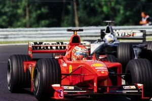 Eddie Irvine, Ferrari ve David Coulthard, McLaren