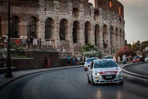 Jacopo Trevisani, Arianna Faustini, Peugeot 208 R2, HP sport