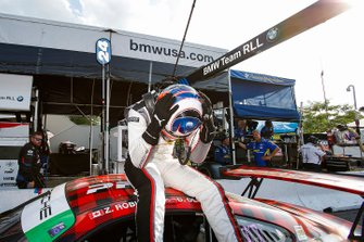 #9 PFAFF Motorsports Porsche 911 GT3 R, GTD: Dennis Olsen, Zacharie Robichon, Celebra en la categoría GTD