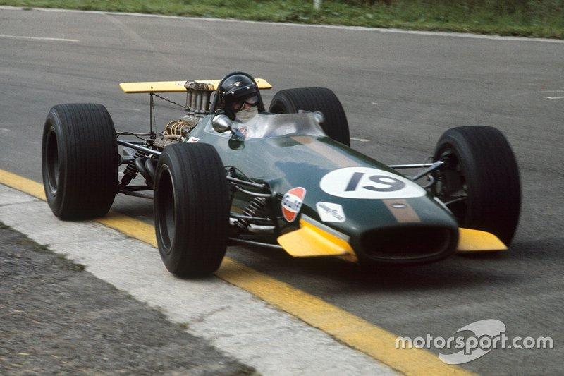 Самыми продвинутыми оказались конструкции Brabham…