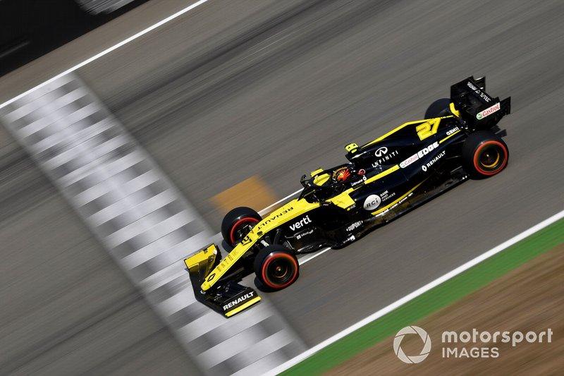 9 - Nico Hulkenberg, Renault F1 Team R.S. 19 - 1'13.126