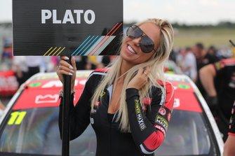 Jason Plato, Power Maxed Racing Vauxhall Gris Girl