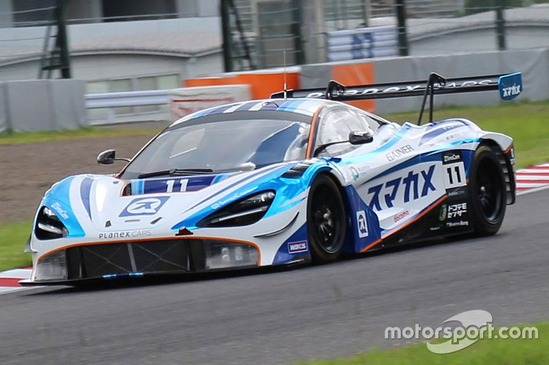 Planex SmaCam Racing McLaren720S GT3 / Mika Hakkinen, Katsu Kubota