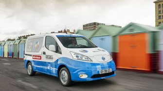 Nissan e-NV200 ice cream van