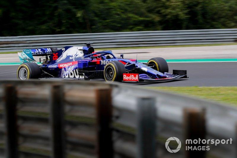 Даниил Квят (Toro Rosso) – 1:16,692
