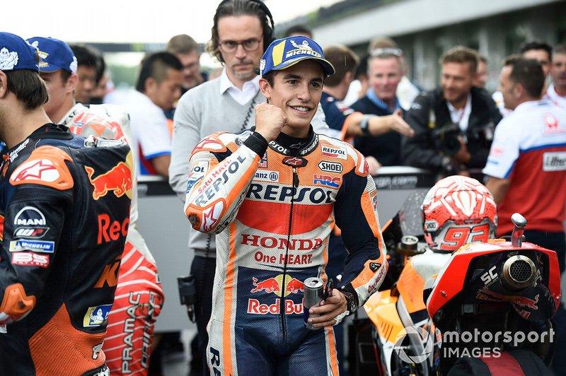 Pole sitter Marc Marquez, Repsol Honda Team