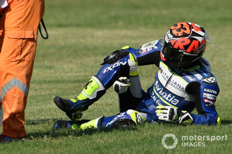 Tito Rabat, Avintia Racing - 8 caídas