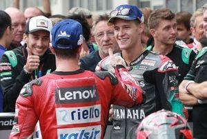 Фабио Куартараро, Petronas Yamaha SRT, и Андреа Довициозо, Ducati Team