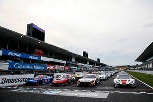 All cars on grid