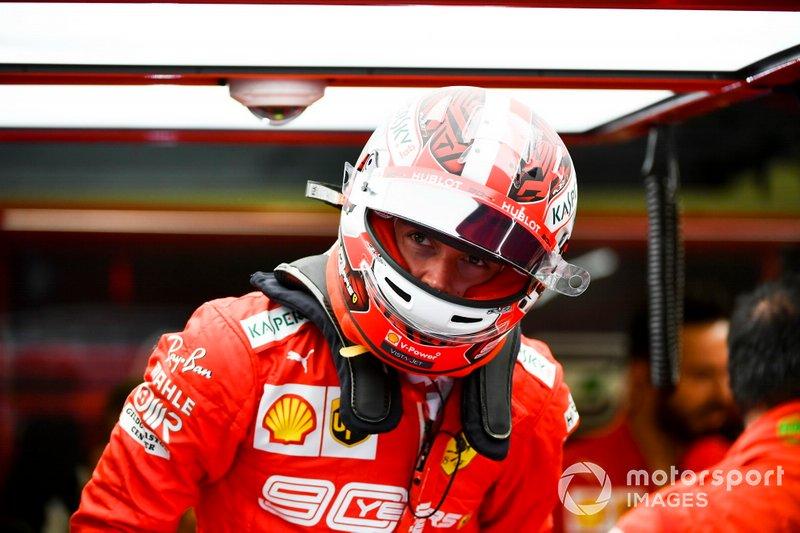 Charles Leclerc, Ferrari: 6.