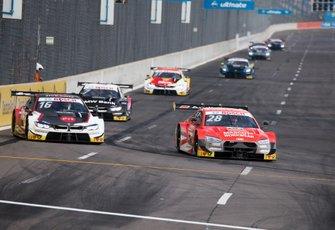 Loic Duval, Audi Sport Team Phoenix, Audi RS 5 DTM, Timo Glock, BMW Team RMG, BMW M4 DTM