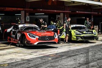 Stanisław Jedliński, Mercedes-AMG GT3, Marcin Jedliński, Mateusz Lisowski, Audi R8 LMS