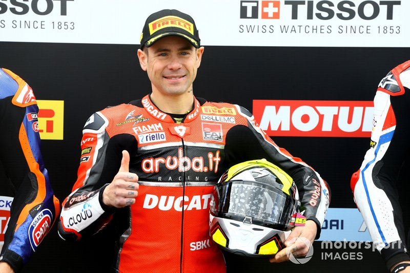 Alvaro Bautista, Aruba.it Racing-Ducati Team takes pole