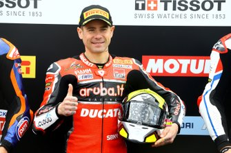 Володар поулу Альваро Баутіста, Aruba.it Racing-Ducati Team