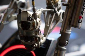 Nissin brakes on Tom Sykes, BMW Motorrad WorldSBK Team bike