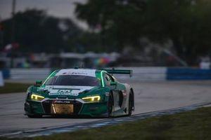 #29 Montaplast by Land Motorsport Audi R8 LMS GT3, GTD: Daniel Morad, Christopher Mies, Ricky Feller