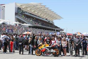 Moto de Nicky Hayden y su familia