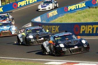 #912 EBM Porsche 911 GT3-R: Dirk Werner, Dennis Olsen, Matt Campbell, #911 EBM Porsche 911 GT3-R: Romain Dumas, Sven Müller, Mathieu Jaminet