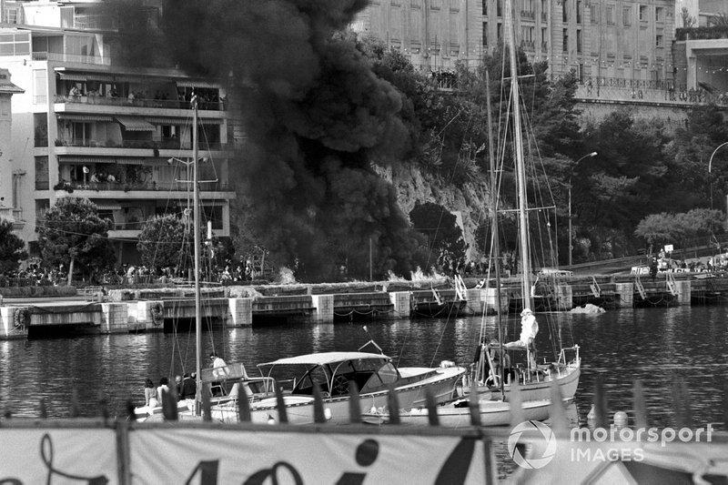 El fatal accidente de Lorenzo Bandini, Ferrari 312
