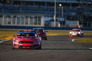 #40 PF Racing Ford Mustang GT4, GS: James Pesek, Jade Buford, Patrick Gallagher