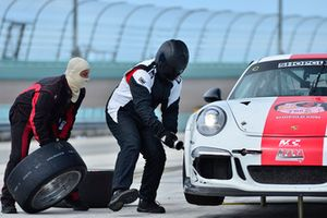 #88 MP1B Porsche GT3 Cup driven by Carlos Crespo of MCC Motorsports