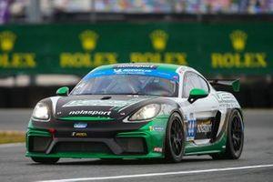#44 nolasport Porsche Cayman GT4 MR, GS: Mike Vess, Matt Travis, Jason Hart