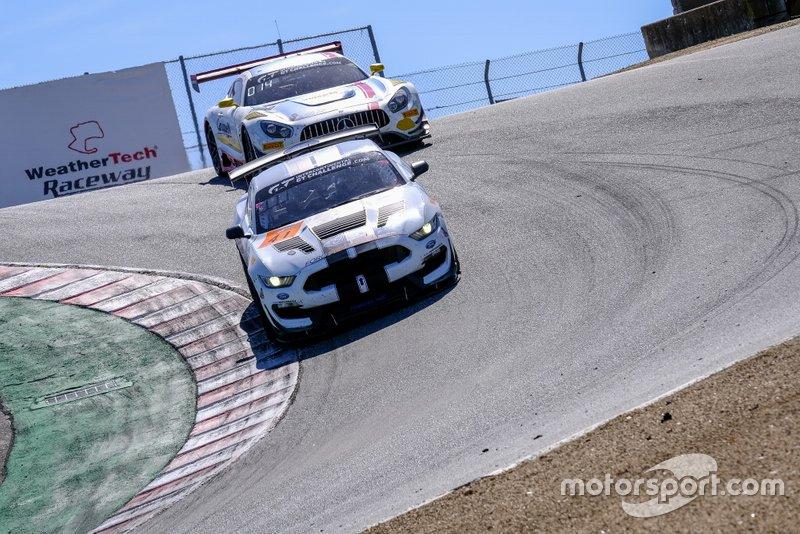 #41 PF Racing Ford Mustang GT4: Jason Pesek, Jade Buford, Chad McCumbee
