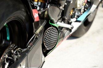 Un échappement du SIC Petronas Yamaha