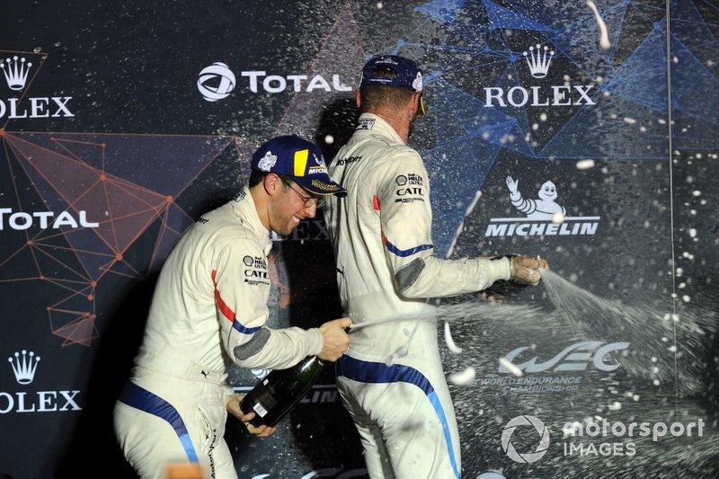Podio GTLM Pro: #81 BMW Team MTEK BMW M8 GTE: Martin Tomczyk, Nicky Catsburg, Alexander Sims